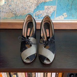 Marni peep toes